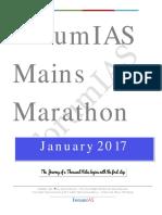 January Mains Marathon