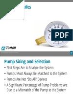 Pump Hydraulics