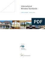 International Window Standards