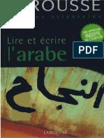 Arabic - Larousse Lire Et Écrire L'arabe Ed 2006 (French).pdf
