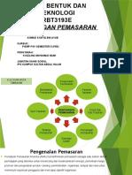 Reke Bentuk Dan Teknologi PEMASARAN