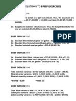 Standard Costing and Balanced Scorecard