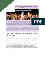 La Semana Santa de Trujillo Declarada Fiesta de Interés
