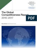 TheGlobalCompetitivenessReport2016 2017 FINAL