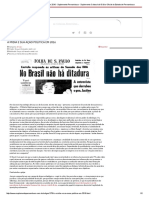 A Mídia e Sua Ação Política Em 2016 - Suplemento Pernambuco