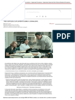Três Certezas e Um Lamento Sobre o Jornalismo - Suplemento Pernambuco