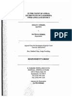Respondent's Brief by Attorney R. Parker White, Poswall, White & Cutler