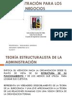 ADMINISTRACIONPARALOSNEGOCIOS Clase9Enfoqueestructuralista Decomportamiento Sistemicoysituacionaldelaadministracion