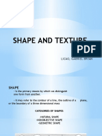 Shape and Texture