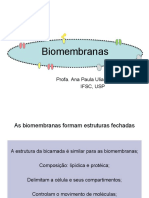 Aula 2 Biomembranas