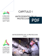 Capitulo I Antecedentes de La Proteccion Civil