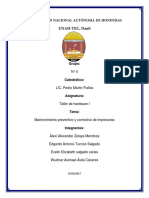 Mantenimiento y Criterios de Selección de Impresoras