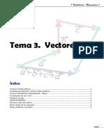 Tema 03 Vectores