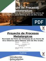 Proyecto de Procesos Metalúrgicos