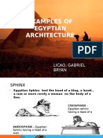 EGYPT ARCHITECTURE (HISTORY OF ARCHITECTURE)
