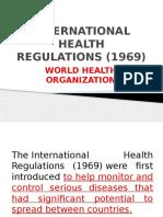 International Health Regulations (1969)
