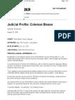 Judicial Profile