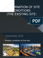Determination of Site Conditions
