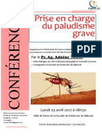 Conference 3 Avril - PECpaludisme Grave