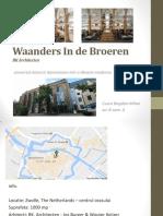 Waanders In de Broeren - eseu reabilitare