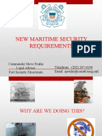Maritime Security Policy