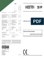 Westen 20 fp Italian manual