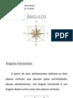 Aula2_Ângulos Horizontais e Verticais_2016.1