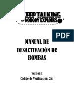 Keep Talking and Nobody Explodes - Manual en Español