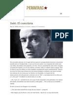 Saki_ El Cuentista _ PERRERAC
