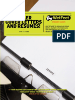 WetFeet insider's guide to resume and coverletters.pdf
