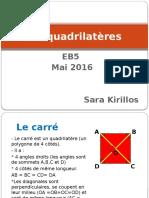 les quadrilateres eb5