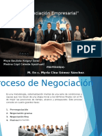 Negociación Empresarial