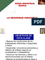 CLASE. 1. La Seguridad Industrial