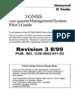 Atr 72-500 - Ht1000 Gnss Pilot's Guide