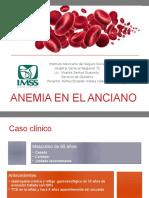 Anemia en ancianos