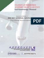 JAA ATPL BOOK 10 - Oxford Aviation Jeppesen - General Navigation FIRST