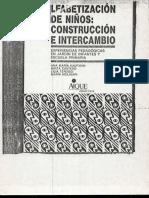 Alfabetización de Niños - Construcción e Intercambio - Ana Kaufman