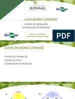 Aula 5_solos Do Bioma Cerrado
