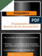 Propiedades Acidas y Básicas de Los Aminoácidos