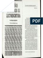 Los Niños Construyen Su Lectoescritura - Categorización de Los Puntajes Del WISC - Yetta Goodman