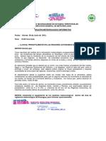 Nota y Boletines Meteorologicos-8 JUNIO