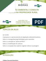 Aula 23_legislacao e Conduta Tecnica Na Propriedade Rural