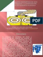 Diseño y Evaluación Energética de Dos Circuitos Molienda