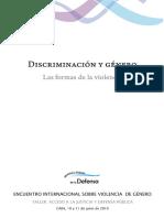 Discriminación y género