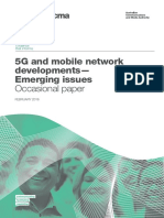 5G and Mobile Network Developments- Emerging Issues PDF