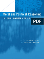 Andrew Light_Moral and Political Reasoning in Environmental Practice