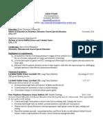 ashley prindles resume