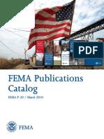 Catálogo FEMA