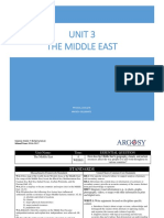 UNIT 3-Middle East