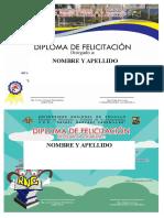 Diplomas Inicial